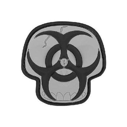 Maxpedition Patch BIO-HAZARD SKULL Black/Grey