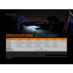 Fenix Flashlight PD36R 1600 Lumens (21700 Battery)