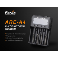 Fenix Battery Charger Smart Quad Channel
