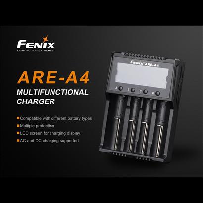 Fenix Battery Charger Smart Quad Channel