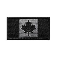 "CP Gear Canadian Flag Black Medium 1.75"" X 3.25"""