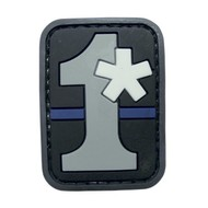 5ive Star Gear Patch #1 Asterisk Thin Blue Line