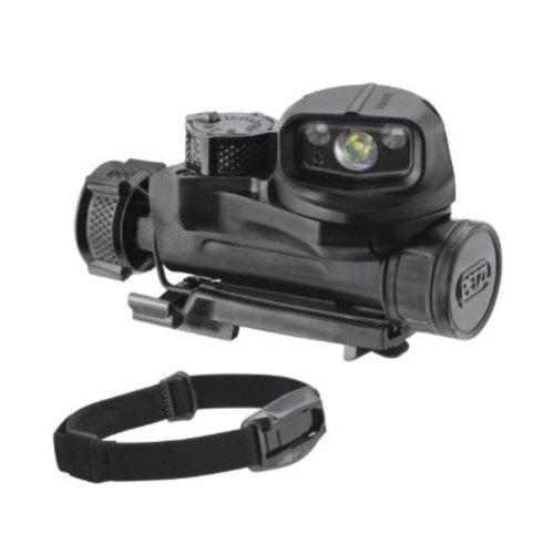 Petzl STRX IR Tactical Headlamp Multi-Carry Options