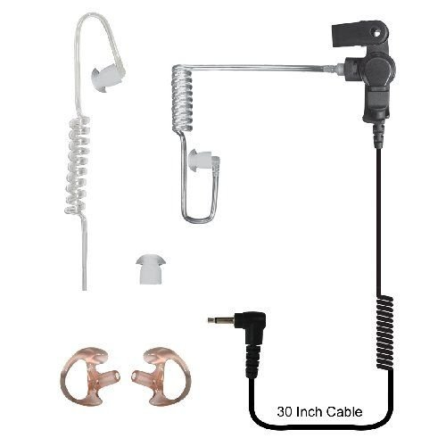 Code Red Headsets Silent 2.5 Pack Clear Tube Earpiece