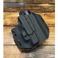 Solely Canadian Concealment Holster RH G19 Glock W/XC1 Surefire Light Blk