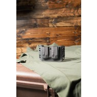 Solely Canadian Concealment Magazine Carrier L/H Double S&W M&P 9MM/40 Black