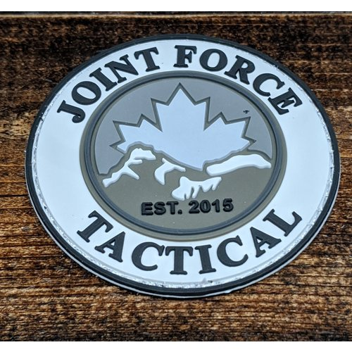 Joint Force Tactical JFT Mountain patch round - PVC