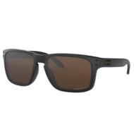 Oakley Hollbrook Matte Black Frame w/ Prizm Tungsten Polarized Lens