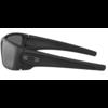 Oakley Fuel Cell - Cerakote Graphite Back Frame w/ Black Iridium Polarized Lens
