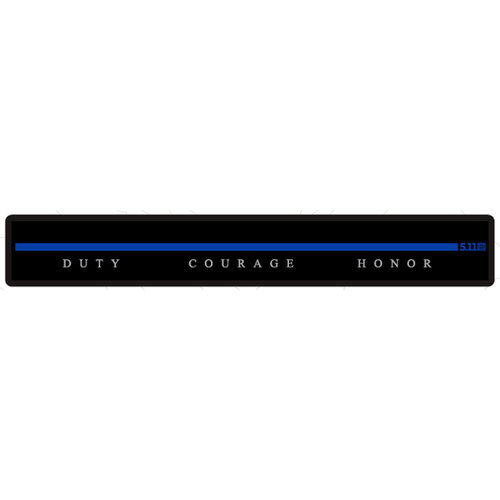5.11 Tactical Thin Blue Name Tape Patch (Limited)