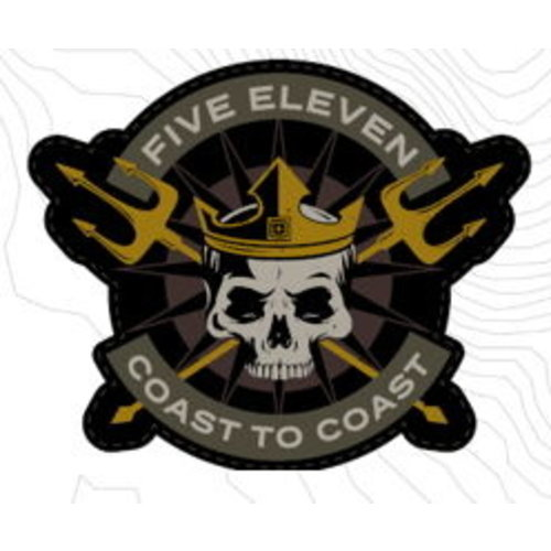 5.11 Tactical Coast To Coast Patch (Limited)