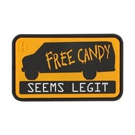 Maxpedition Free Candy Morale Patch