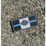 Joint Force Tactical Thin Blue Line Subdued Canada Flag Patch