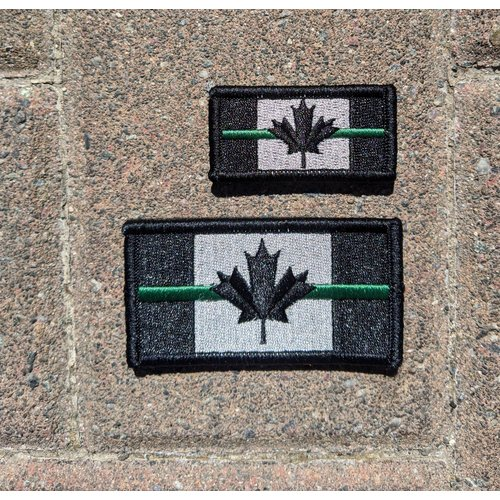 Joint Force Tactical Thin Green Line Patch