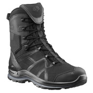 "Black Eagle Athletic 2.0 8"" Breathable Side Zip Boot - Black"