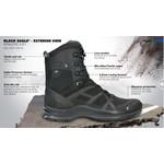 "Black Eagle Athletic 2.0 8"" Breathable Side Zip Boot - Black"