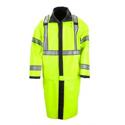 5.11 Tactical Long Reversible Hi-Vis Rain Coat ANSI Class 3