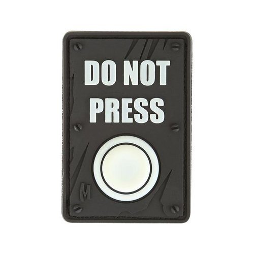 Maxpedition DO NOT PRESS Morale patch