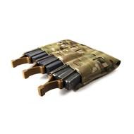 Blue Force Gear MagNOW Pouch M4 Triple - BLACK
