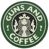 5ive Star Gear GUNS AND COFFEE Morale Patch