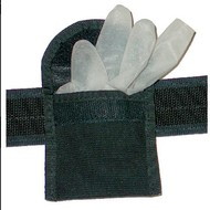 "CALDE RIDGE Latex Glove Pouch (Single Pocket) - 2 1/4"" Belt Loop"