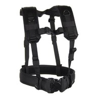 Black Hawk Load Bearing Suspenders & Military Gear Harness