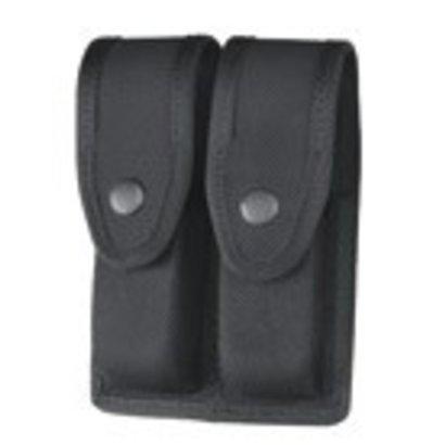 "Gould And Goodrich X627 Double Pistol Magazine Case 2.25"" Belt"