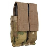 Tactical Tailor Double Pistol Mag Pouch horizontal