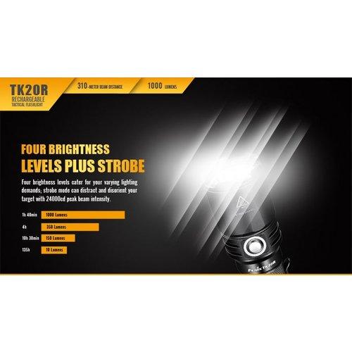 Fenix Flashlight TK20R Rechargeable