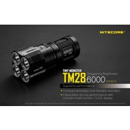 NITECORE TM28 Flashlight Set W/Batteries
