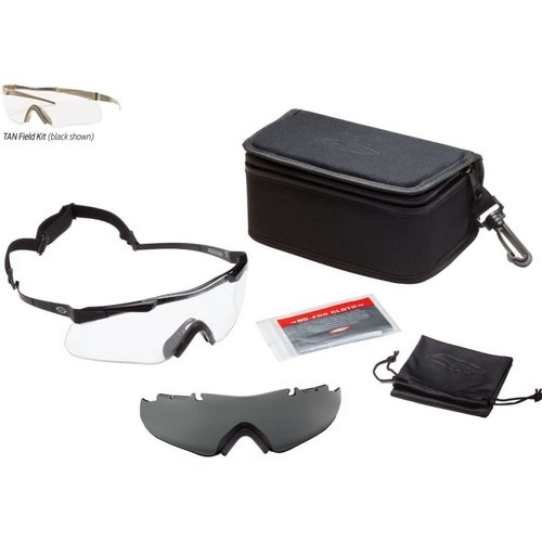 Smith Optics Aegis Echo II  - Field Kit, Asian Fit, Tan Frame, w/ Clear, Gray