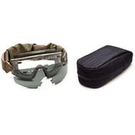 Smith Optics LoPro Regulator, Tan Frame, w/ Clear, Grey