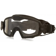 Smith Optics OTW Turbo Fan Ballistic Goggles, Black Frame, w/ Clear, Grey