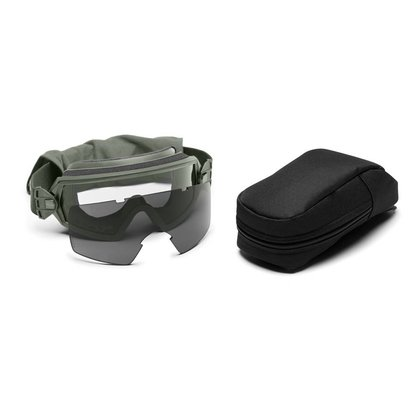 Smith Optics Outside The Wire Goggles Field Kit, Foliage Green w/ Clear, Gray