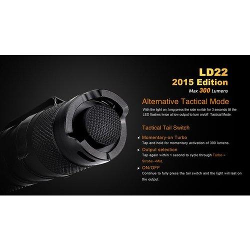 Fenix Flashlight LD22 2015 2AA Flashlight