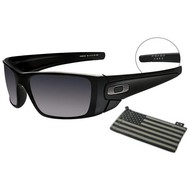 Oakley SI Fuel Cell Steel Flag - Matte Blk w/ Blk Iridium