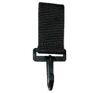 CALDE RIDGE Keyholder with Plastic Snap Hook - Velcro Belt Mount