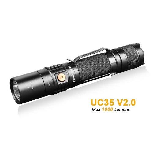 Fenix Flashlight UC35 V2.0 Rechargeable Black