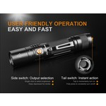 Fenix Flashlight UC35  V2.0 Black