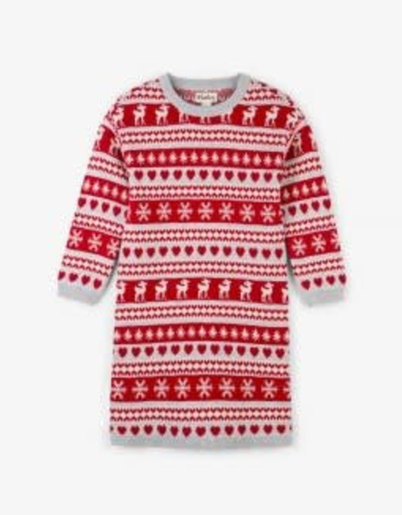 Hatley Hatley Deer Sweater Dress