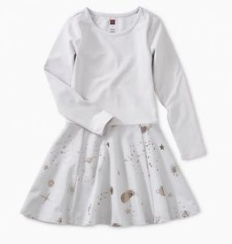 Tea Collection Tea Starry Skies Skirted Dress