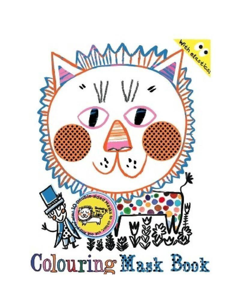 Draw Me A Lion Draw Me a Lion Mask Colouring Book