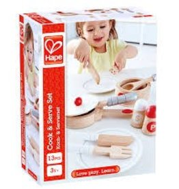 Hape Hape Cook and Serve Set