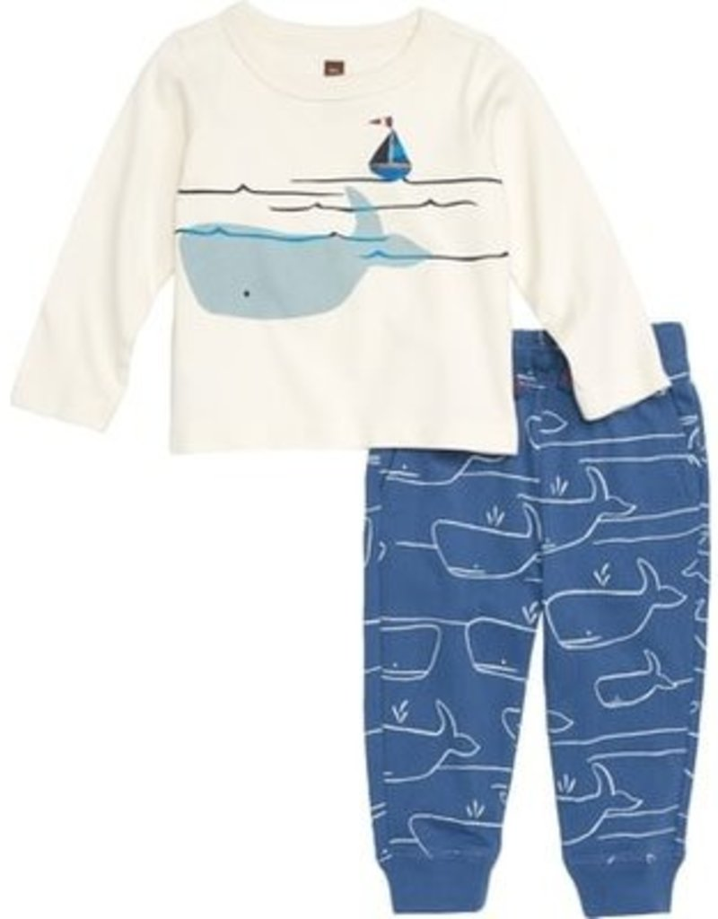 Tea Collection Tea Baby Set - Whale