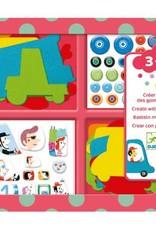 Djeco Djeco Create with Stickers