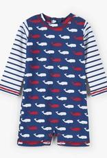 Hatley Hatley Whale Pod Baby Rashguard One-Piece