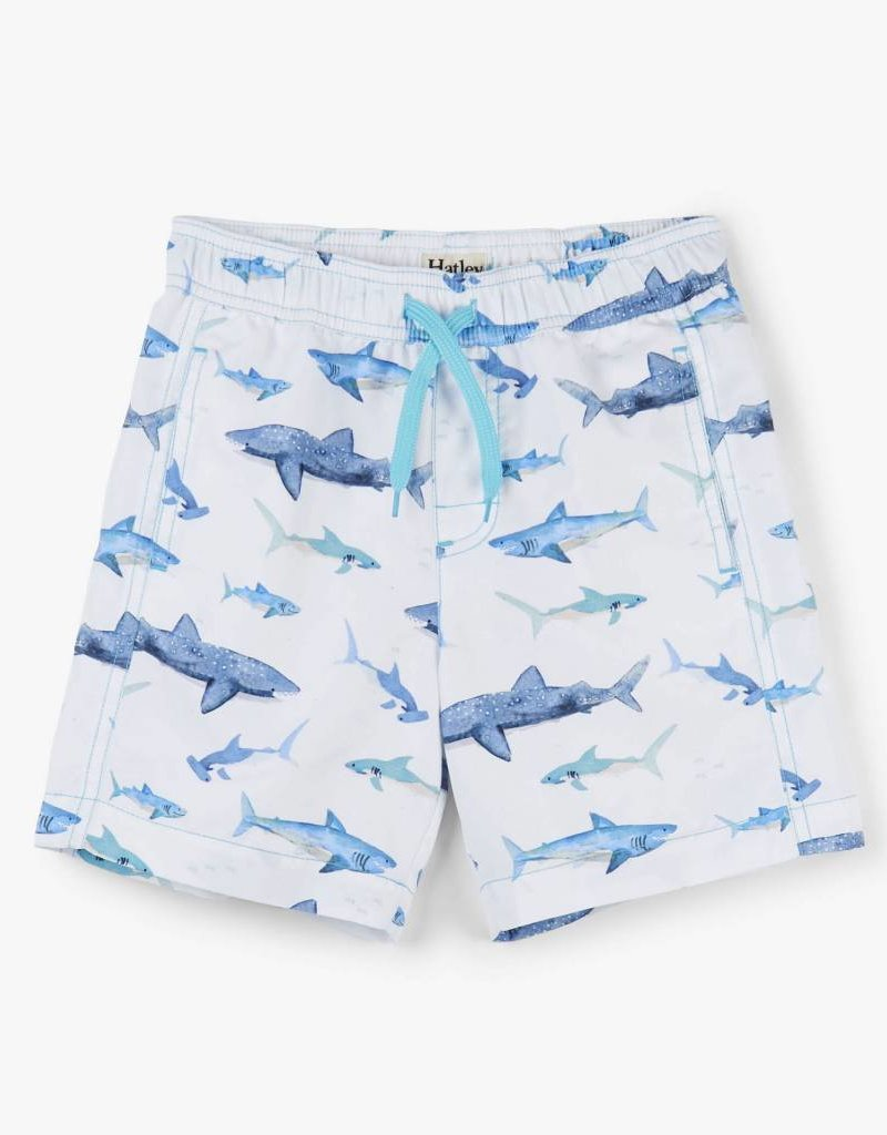 Hatley Hatley Sharks Swim Trunks