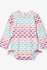 Hatley Hatley Fishies Baby Rashguard Swimsuit