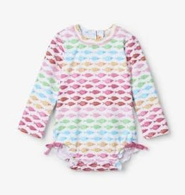 Hatley Hatley Fishies Baby Rashguard Swimsuit