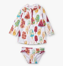 Hatley Hatley Fruity Popsicles Rashguard Set